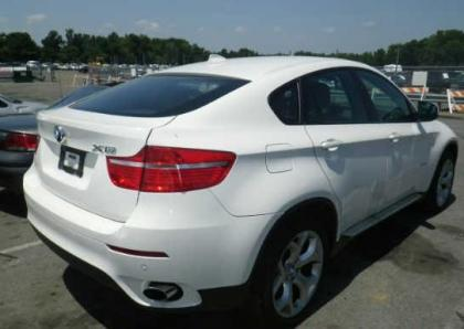 2011 BMW X6 BASE - WHITE ON RED 4