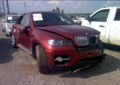 2009 BMW X6 XDRIVE50I - MAROON ON BEIGE