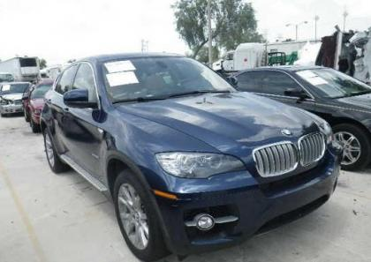 2012 BMW X6 XDRIVE50I - BLUE ON BEIGE 1