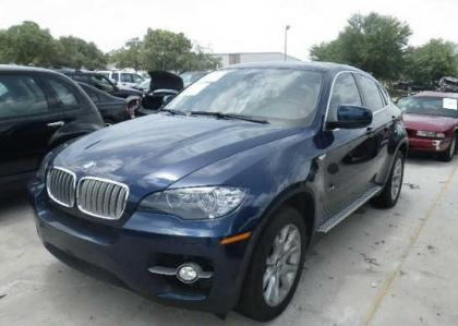 2012 BMW X6 XDRIVE50I - BLUE ON BEIGE 2