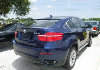 2012 BMW X6 XDRIVE50I - BLUE ON BEIGE 4