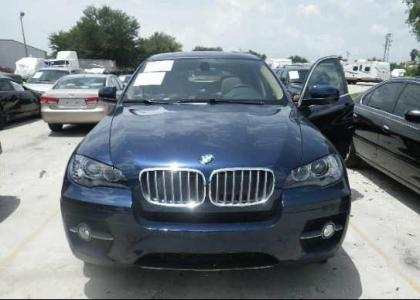 2012 BMW X6 XDRIVE50I - BLUE ON BEIGE 6