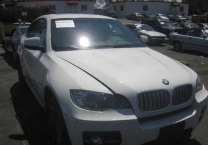 2011 BMW X6 XDRIVE50I - WHITE ON WHITE