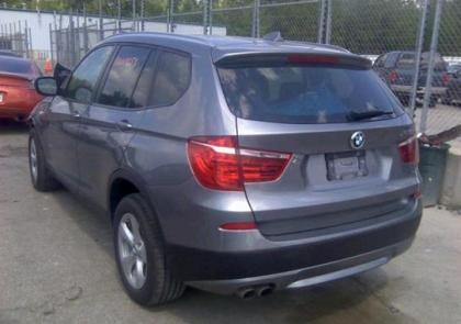 2011 BMW X3 XDRIVE28I - GREY ON BLACK 3