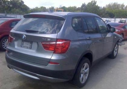 2011 BMW X3 XDRIVE28I - GREY ON BLACK 4