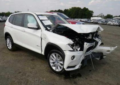 2013 BMW X3 XDRIVE28I - WHITE ON BEIGE 1