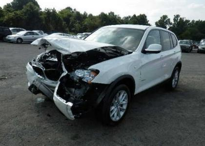 2013 BMW X3 XDRIVE28I - WHITE ON BEIGE 2