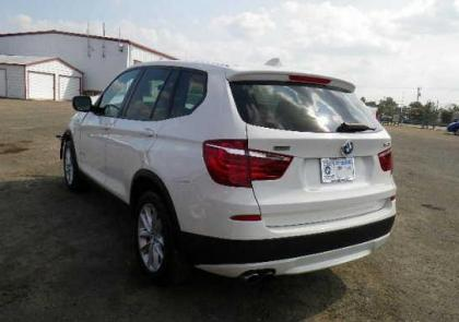 2013 BMW X3 XDRIVE28I - WHITE ON BEIGE 3