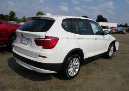 2013 BMW X3 XDRIVE28I - WHITE ON BEIGE 4