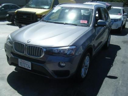 2015 BMW X3 XDRIVE28 - BLACK ON BLACK 1
