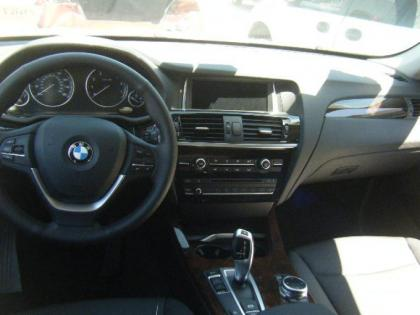 2015 BMW X3 XDRIVE28 - BLACK ON BLACK 6