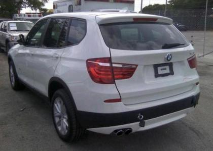2013 BMW X3 XDRIVE28I - WHITE ON BLACK 3
