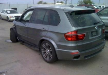 2013 BMW X5 XDRIVE50I - GRAY ON BLACK 3