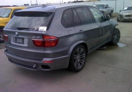 2013 BMW X5 XDRIVE50I - GRAY ON BLACK 4