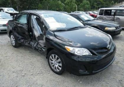 2012 TOYOTA COROLLA LE - BLACK ON GRAY