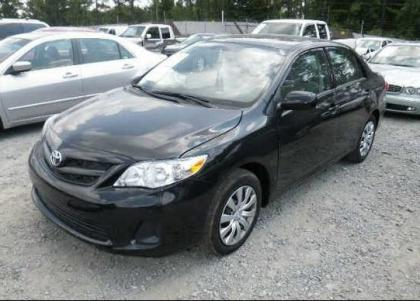 2012 TOYOTA COROLLA LE - BLACK ON GRAY 2