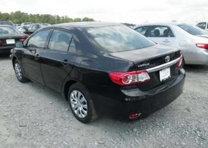 2012 TOYOTA COROLLA LE - BLACK ON GRAY 3