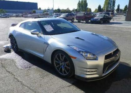 2014 NISSAN GT-R PREMIUM/BLACK EDIT - SILVER ON BLACK 1
