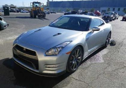 2014 NISSAN GT-R PREMIUM/BLACK EDIT - SILVER ON BLACK 2