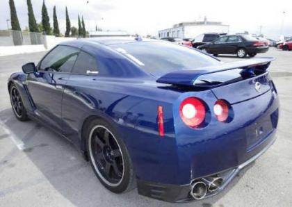 2014 NISSAN GT-R PREMIUM/BLACK EDIT - BLUE ON BLACK 3