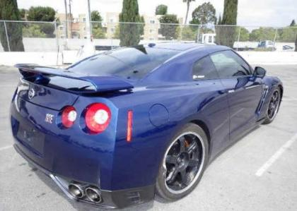 2014 NISSAN GT-R PREMIUM/BLACK EDIT - BLUE ON BLACK 4