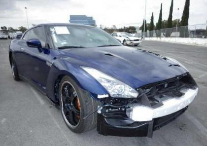2014 NISSAN GT-R PREMIUM/BLACK EDIT - BLUE ON BLACK 6