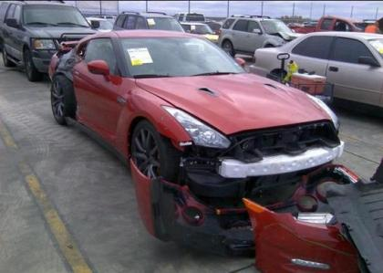 2014 NISSAN GT-R PREMIUM - RED ON BLACK 1