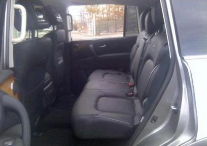 2013 INFINITI QX56 BASE - GRAY ON BLACK 8