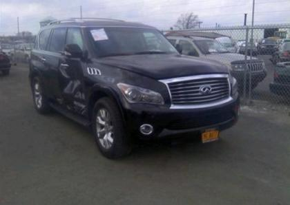 2013 INFINITI QX56 AWD - BLACK ON BLACK