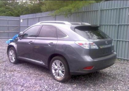 2012 LEXUS RX450 HYBRID - GRAY ON CREAM 3