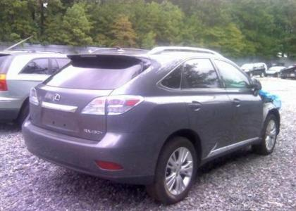 2012 LEXUS RX450 HYBRID - GRAY ON CREAM 4