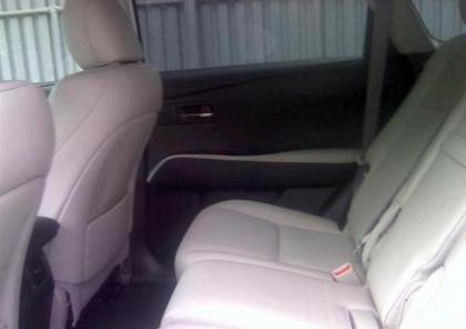 2012 LEXUS RX450 HYBRID - GRAY ON CREAM 8
