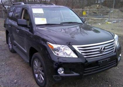 2011 LEXUS LX570 BASE - BLACK ON BEIGE 1