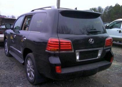 2011 LEXUS LX570 BASE - BLACK ON BEIGE 3