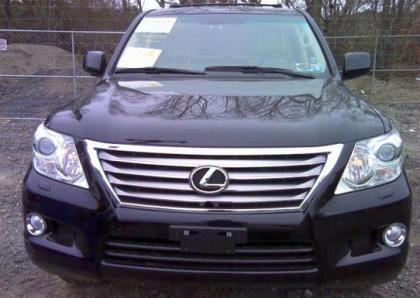 2011 LEXUS LX570 BASE - BLACK ON BEIGE 6