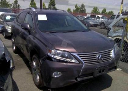 2013 LEXUS RX350 BASE - BROWN ON BLACK
