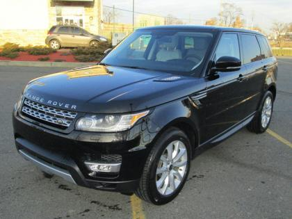 2014 LAND ROVER RANGE ROVER SPORT SUPERCHARGED - BLACK ON WHITE