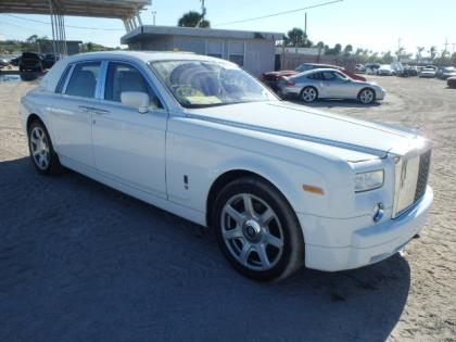 2008 ROLLS ROYCE PHANTOM BASE - WHITE ON WHITE 1
