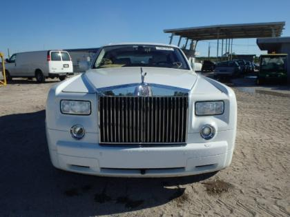 2008 ROLLS ROYCE PHANTOM BASE - WHITE ON WHITE 8