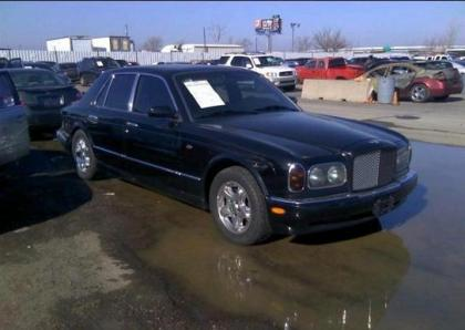 1999 BENTLEY ARNAGE BASE - BLACK ON BLACK