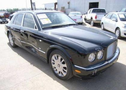 2005 BENTLEY ARNAGE R - BLACK ON BEIGE