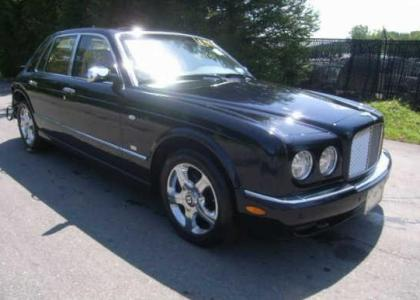 2005 BENTLEY ARNAGE RED LABEL - BLACK ON BEIGE