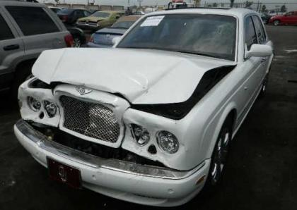 2007 BENTLEY ARNAGE R - WHITE ON BEIGE 2