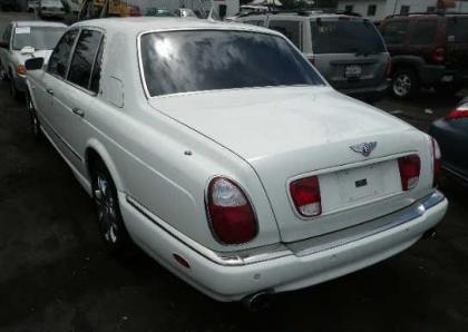 2007 BENTLEY ARNAGE R - WHITE ON BEIGE 3