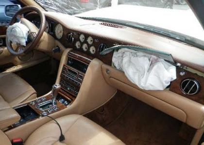 2007 BENTLEY ARNAGE R - WHITE ON BEIGE 5