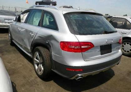 2013 AUDI ALLROAD 2.0T - SILVER ON BLACK 3