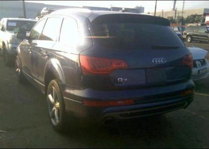 2012 AUDI Q7 PRESTIGE - BLUE ON BLACK 3
