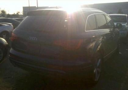 2012 AUDI Q7 PRESTIGE - BLUE ON BLACK 4