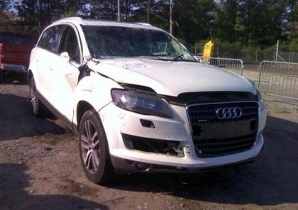 2009 AUDI Q7 3.6 QUATTRO AWD - WHITE ON BEIGE