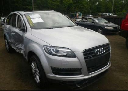 2008 AUDI Q7 3.6 QUATTRO AWD - SILVER ON BLACK